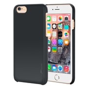 rooCASE iPhone 6 RC-IPH6-4.7-MD-BK Slim Fit Median Hard Case Protective Cover, Black
