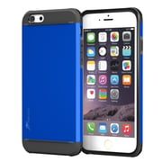 rooCASE iPhone 6 Plus RC-IPH6-5.5-ET-BL Slim Fit Armor Hybrid PC TPU Case, Palatinate Blue