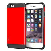 rooCASE iPhone 6 Plus RC-IPH6-5.5-ET-RD Slim Fit Armor Hybrid PC TPU Case, Testarossa Red