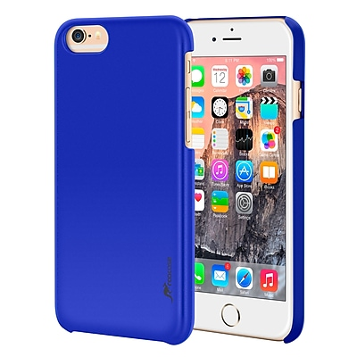 rooCASE iPhone 6 RC-IPH6-4.7-MD-DB Slim Fit Median Hard Case Protective Cover, Dark Blue