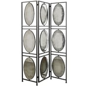 A&B Home Group, Inc 75'' x 47.52'' 3 Panel Room Divider