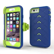 Gumdrop Cases Drop Tech V2 Carrying Case For Apple iPhone 6, Royal Blue/Lime