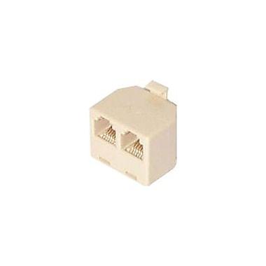Startech.Com® Rj11 To 2X Rj11 Splitter Adapter , M/F
