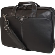 "Mobile Edge Deluxe Leather Briefcase For 16"" Laptop"