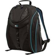 "Mobile Edge Express Backpack 2.0 For 17"" MacBook/Notebook, Black/Teal"