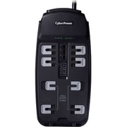 Cyberpower Systems Usa 8 Outlets 2250 Joule Surge Protector With 6' Cord