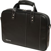 Mobile Edge Slimline Briefcase For Ultrabook, Black/White