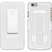 Amzer® Shellster™ Case With Kickstand For iPhone 6 Plus, White