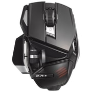 Mad Catz® R.A.T.™ Wireless Mobile Mouse, Glossy Black