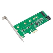 Syba™ SI-PEX50065 Multimedia PCIe To M.2 and SATA 6G Adapter Card