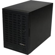"StarTech S355BU33ERM 5 Bay 2.5""/3.5"" Hard Drive External Enclosure, Black"