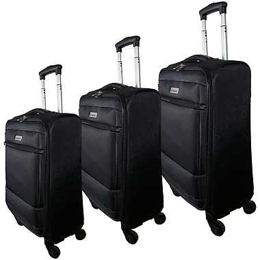 McBRINE Eco Friendly 3-Piece Luggage Set of 28