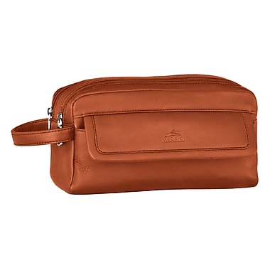 Mancini Double Compartment Toiletry Kit, 10.25