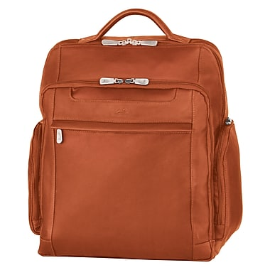 """Mancini Leather Backpack for 15.6"""" Laptop Computer, 13.5""""x 5.5""""x 15.5"""