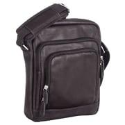 Mancini - Sacs fourre-tout unisexe pour tablettes électroniques à pochette sécurisée RFID, 8 x 1,75 x 9,75 po