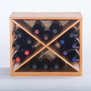 Elegant Home Fashions 16 Bottle Wine Rack