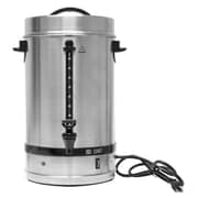 EMF Stainless Steel Commercial Electric Coffee Percolator and Tea/Hot Water Dispenser, Silver, 15L