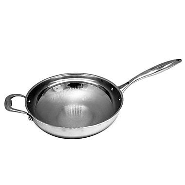 EMF Stainless Steel Wok, Silver, 11