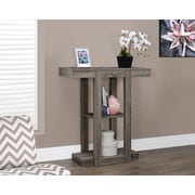 "Monarch Specialties 32""L Hall Console Accent Table, Dark Taupe (I 2456)"