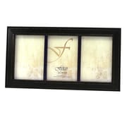 Fetco Home Decor Fashion Woods Longwood Triple Picture Frame