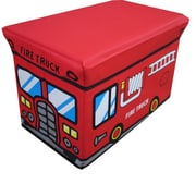 NOYA USA Children's Folding Storage Bin; Red