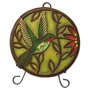 New Creative Jeweled Garden Hummingbird Garden Plaque