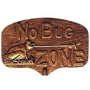 Montague Metal Products No Bug Zone Garden Sign