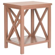 Safavieh Candence End Table; Chocolate Brown