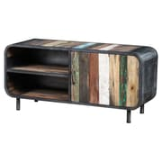 Artemano Recycled Boat Wood TV Stand