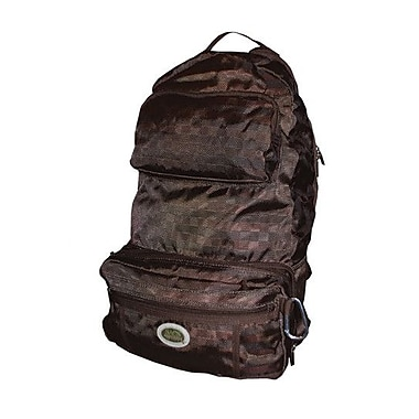 Sacs of Life Full Size Backpack; Brown