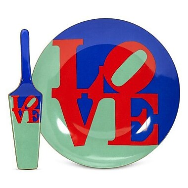 PS Collection Robert Indiana Love Server and Cake Stand
