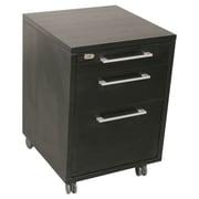 Tvilum Pierce 3 Drawer Mobile Filing Cabinet; Coffee