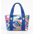 Sachi Insulated Fashion Style 11 Circles Lunch Tote