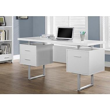 Monarch Hollow-Core/Metal Office Desk, 60