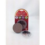 RUBY RED PAINT, INC. Individual Color 18ml/0.61oz Face and Body Paint; Metallic Silver
