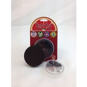 RUBY RED PAINT, INC. Individual Color 18ml/0.61oz Face and Body Paint; Dark Brown