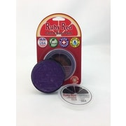 RUBY RED PAINT, INC. Individual Color 18ml/0.61oz Face and Body Paint; Deep Purple