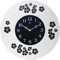 Infinity Instruments 22'' Blossom Wall Clock