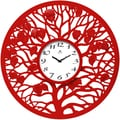 Infinity Instruments 31'' Oak Wall Clock