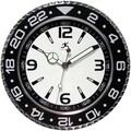 Infinity Instruments 13'' Bazel Wall Clock