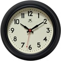 Infinity Instruments Cuccina 8.5'' Wall Clock; Black