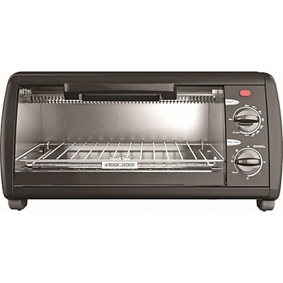 Black & Decker 4-Slice Toaster Oven WYF078277193884