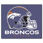 FANMATS NFL - Denver Broncos Mat; 5' x 6'