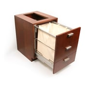 D'Vontz MDV Modular Cabinetry Footed 18'' x 25.5'' Free Standing Cabinet; Traditional Cherry