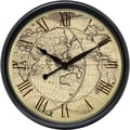 Infinity Instruments Oversized Columbus 24'' Wall Clock