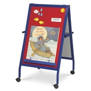 Virco Magnetic Flannel Easel with Steel Frame