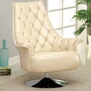 Hokku Designs Caressa Swivel Arm Chair
