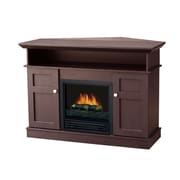 Stonegate Monte Carlo 43.63'' TV Stand with Electric Fireplace; Chocolate