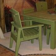 Uwharrie Behrens Dining Side Chair; Twilight Blue (Distressed)