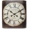 Infinity Instruments Bordeaux Wall Clock